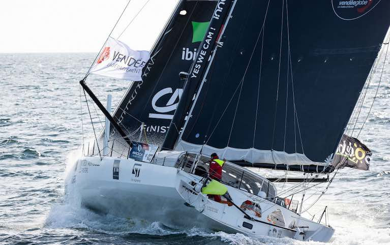 61 year old Jean Le Cam is on his fifth Vendée Globe race