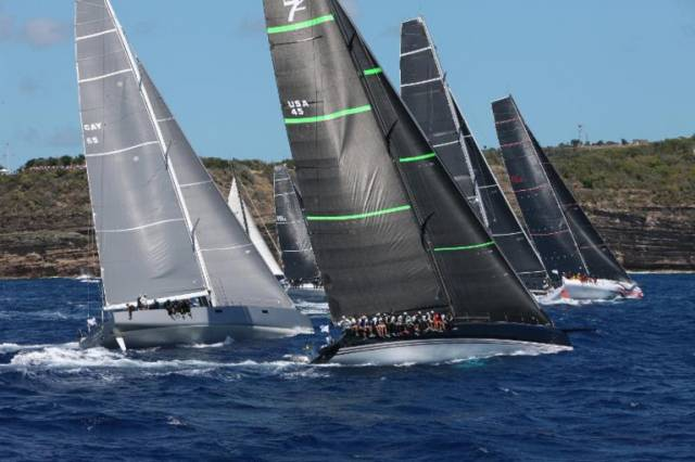 Irish Sailors Start RORC Caribbean 600 in Big Winds & High Waves