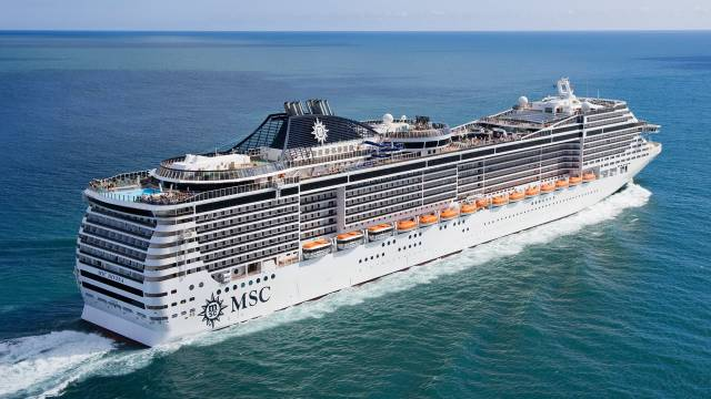 MSC Preziosa was originally to be named Phoenicia from an order placed in a French yard by a Libyan state-owned company. The civil war that broke out in 2011 however put an end to that arrangement.