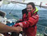 Roseann McGlinchey was a total novice before setting out on the Clipper Race around the world
