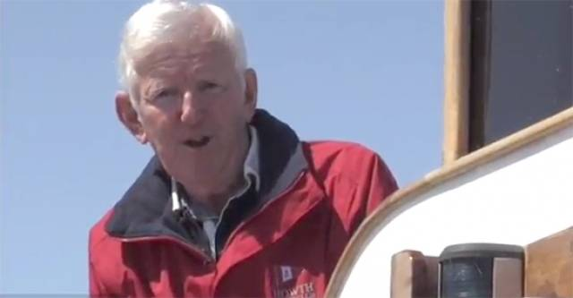 Harry Gallagher – Howth Yacht Club Race management. Watch video below