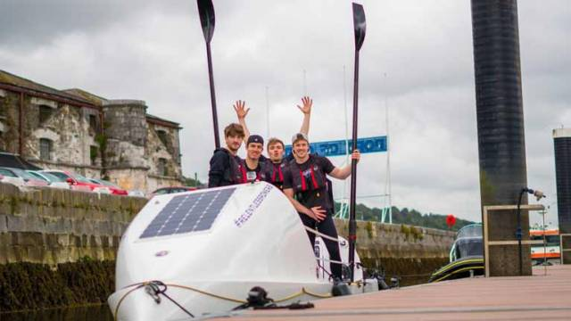 Four Irish Men to Row The Atlantic for Cork University Hospital (CUH) Charity