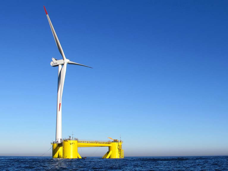 One of the world's largest floating wind projects is to be built off the Welsh coast