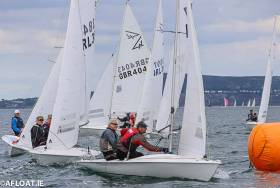There was a 16-boat turnout for Thursday's DBSC race