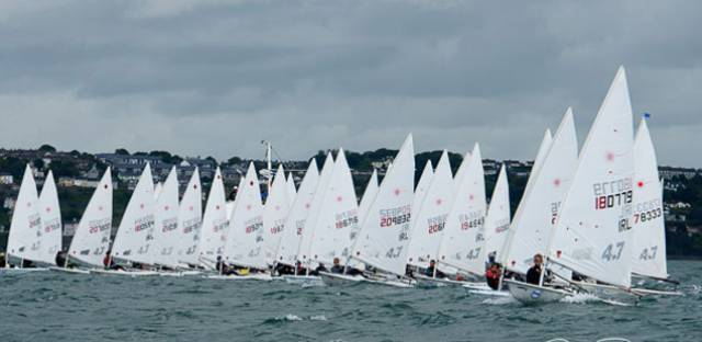 No Change to Leaders on Day Two of the Laser Nationals at Royal Cork (Photo Gallery Here)