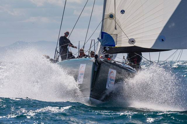 Racing at the Swan 50 Worlds