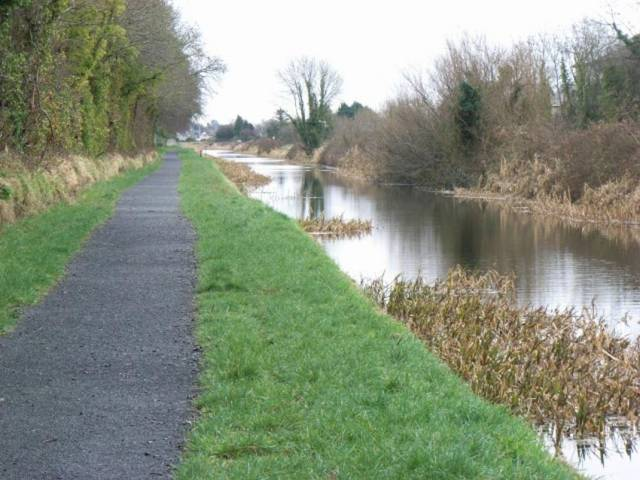 The Royal Canal west of Maynooth, Co Kildare