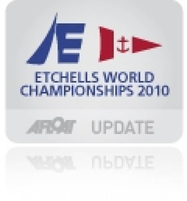 Bertrand double at Howth to lead Etchells Worlds