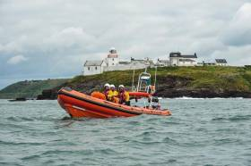 Crosshaven Lifeboat Launched To Angling Boat Aground On Black Rock