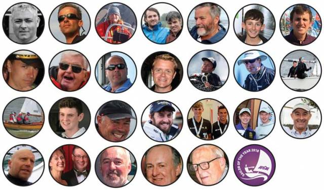 Class of 18 – A special year of Irish sailing achievements will be celebrated at the RDS in February. To read each sailors achievement click on their names in the poll on the right hand side  of the screen