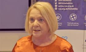 Anne Taylor of Belfast Lough Sailability