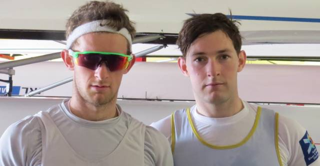 Gary and Paul O'Donovan Second at Head of the Charles