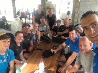 Irish sailors and coaches line out for Tokyo 2020 test in Enoshima