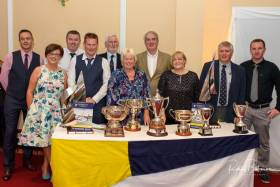 The Cove Sailing Club Committee with the annual prizes