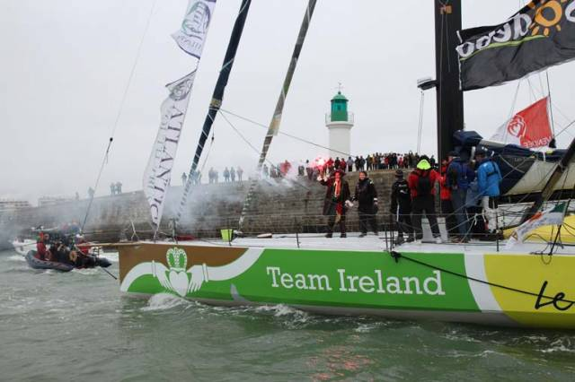 "Enda O'Coineen ""Unofficially"" Finishes Vendee Globe & Completes Solo Circumnavigation"