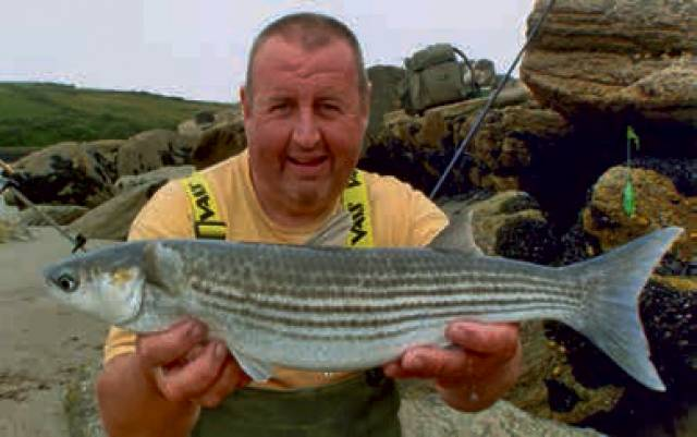 Ian Mulligan with his new Irish record golden grey mullet