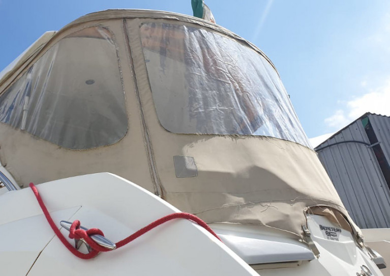 Replace your dull and worn canvas in time for Ireland's return to cruising with BJ Marine