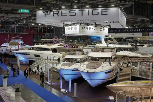 The Prestige range at boot Dusseldorf