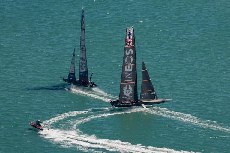 Ineos Team UK Last after America's Cup World Series Day One
