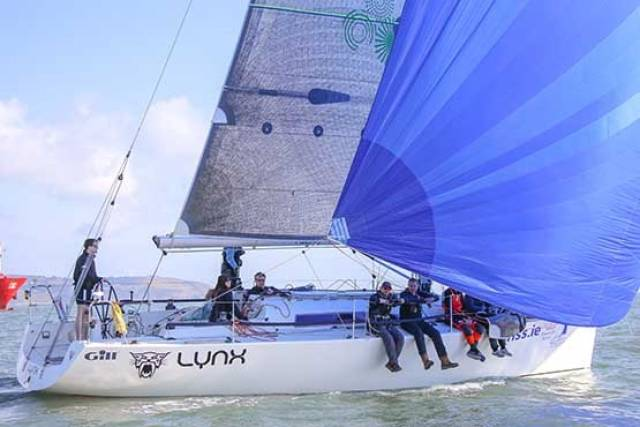 Lynx one of 16 ISORA boats racing in today's Round Ireland Race from Wicklow