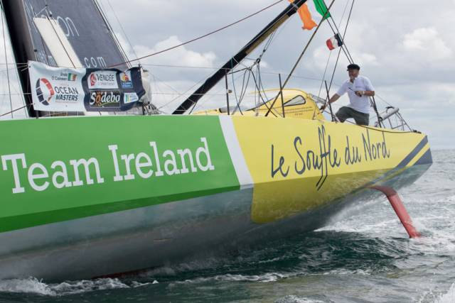 Enda O'Coineen Set To Round Cape Horn Solo This Weekend