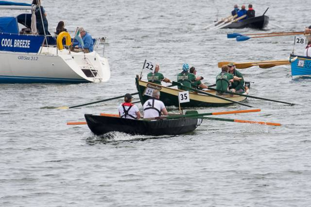 Cork Harbour's An Rás Mor, now in its 14th year, received a record-breaking entry! Over 200 boats and 600 participants