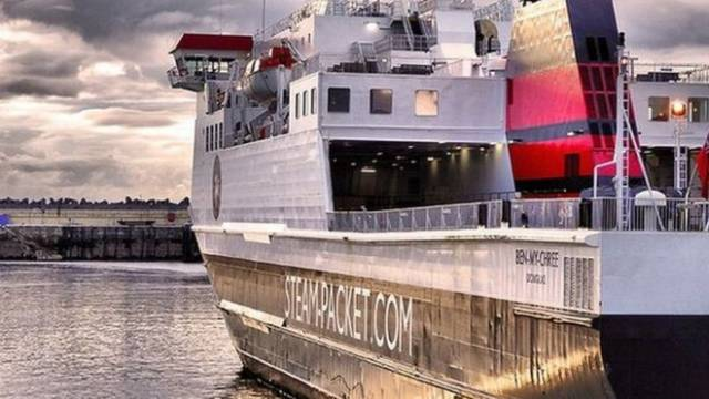 The Manx government bought the ferry firm for £124m in May 2018
