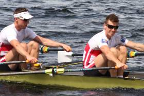 Mark O'Donovan (left) and Shane O'Driscoll: Topped the Rankings