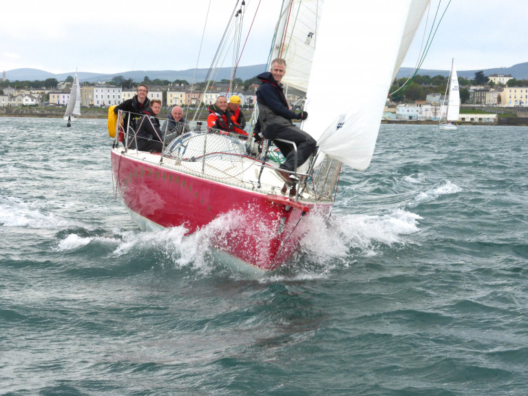 First into the ring…Rupert Barry's JOD35 Red Alert from Greystones was the first fully-confirmed entry for the Fastnet 450 in two weeks' time