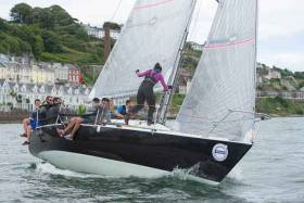 Johnny Swan with Harmony from Howth is one of the super early bird entries for Cork Week