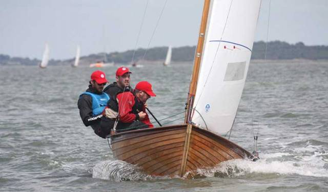 Darragh McCormack, the Mermaid Nationals winner flying his North Sails
