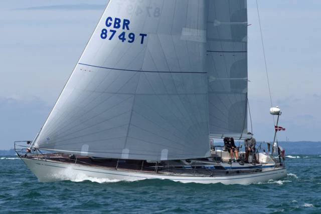 With the Rolex Fastnet Race 2017 fleet finally in open water between Land's End and southwest Ireland, Paul Kavanagh's classic Swan 44 Pomeroy Swan is doing best of the Irish at fourth overall.