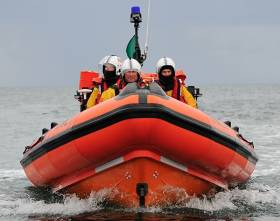 The inshore lifeboat brought the vessel to Crosshaven