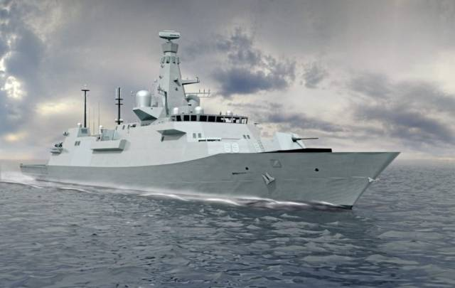 The UK's Royal Navy's newest 'City' class / Type 26 frigate which has been described as a Global Combat Ship will be called HMS Belfast. The original HMS Belfast a battle cruiser that took part in the Normandy beaches in 1944 has since for many years served as a visitor attraction on the Thames, London.