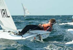Johnny Durcan is in tenth place at the U21 Europeans