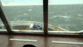 Storm Doris has caused some ferry cancellations and delays on the Irish Sea today