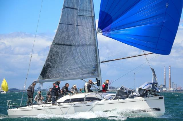 Colin Byrne of the Royal Irish Yacht Club in Dun Laoghaire is one of three ICRA nominees to October's All Ireland Sailing Championships at Royal Cork Yacht Club