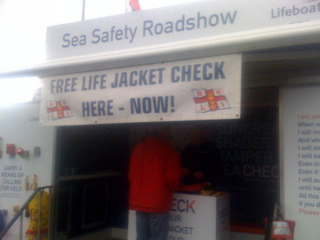 Only 21% of Lifejackets 'Free of Faults': Dun Laoghaire RNLI Issue Lifejacket Safety Warning At Ireland's Biggest Boating Centre