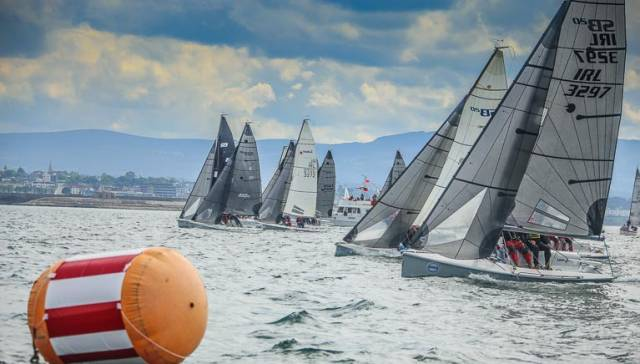 The 2017 SB20 Nationals are being held in Howth Yacht Club
