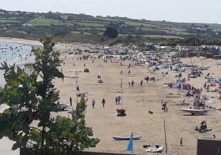 The GP14 UK Nationals are being held by South Caernarvonshire Yacht Club in Abersoch, North Wales