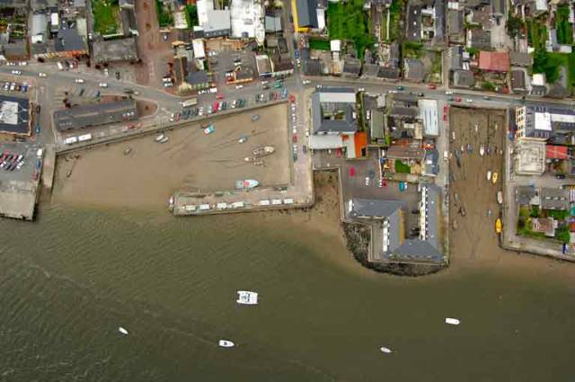 Youghal Port in East Cork