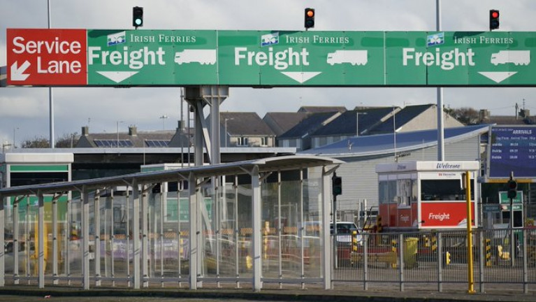 Holyhead Port is the second busiest roll-on/roll-off freight ferry port in the UK after the Port of Dover in Kent