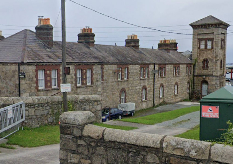 The Coastguard Cottages at Dun Laoghaire Harbour