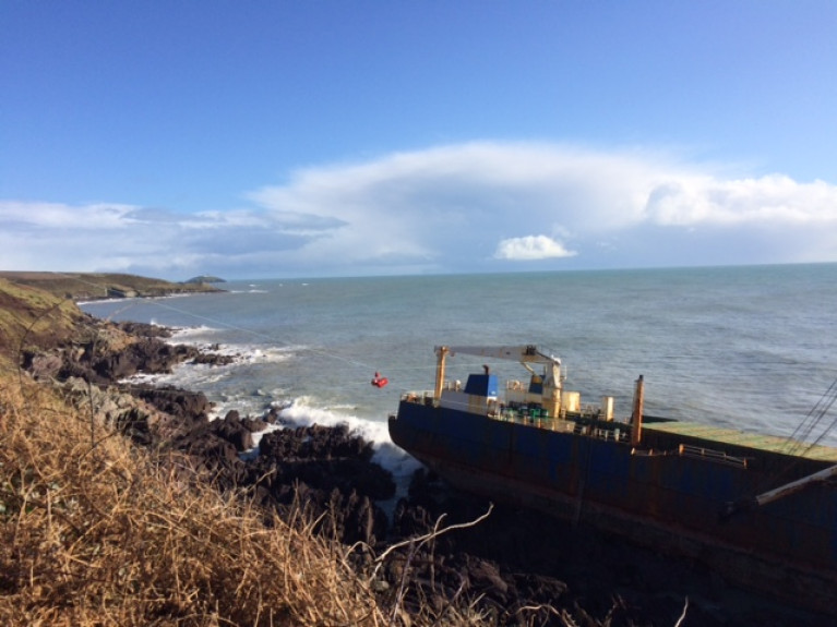 An Oil Spill Assessment Team convened again as of 2.00pm today, as part Cork County Council's Oil Spill Contingency Plan in response to the grounding of cargoship (Alta) in Ballycotton, Co. Cork.