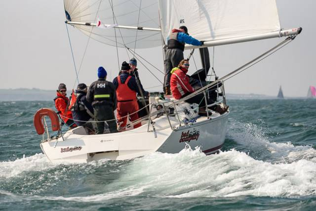 Protest Hearing at Kinsale Yacht Club Will Decide Leader in Class One of Spring Series
