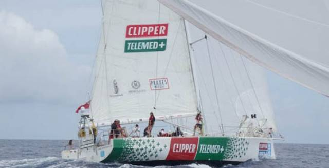 ClipperTelemed+ leads Garmin by a slim 5NM margin