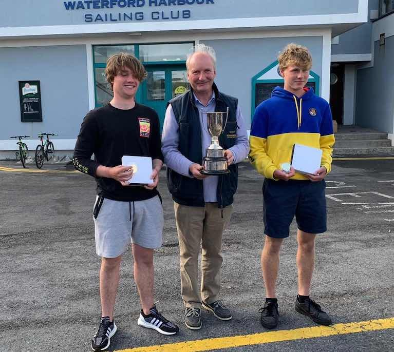 1st Place Gold - Ben Graf and Alexander Farrell Lough Ree Yacht Club