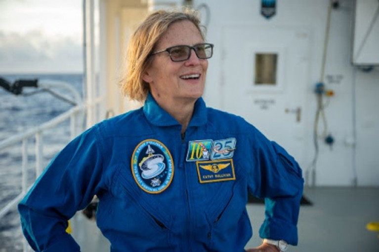 Kathy Sullivan's Exploration From Space to the Sea Floor