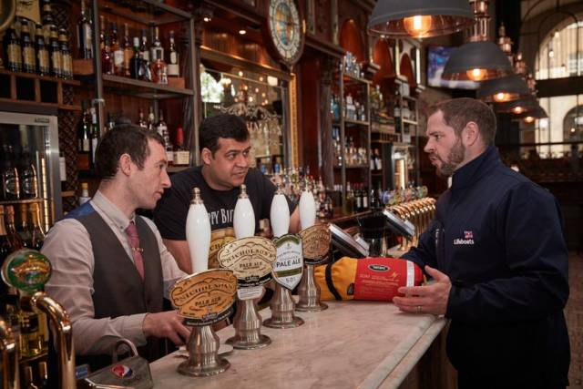 Belfast Pub Promotes Water Safety As Major Chain Adopts RNLI Campaign