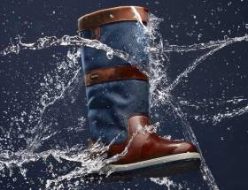 The Dubarry Shamrock boot features an elastic gusset on the back of the boot to cater for the average and over average calf measurement with ease
